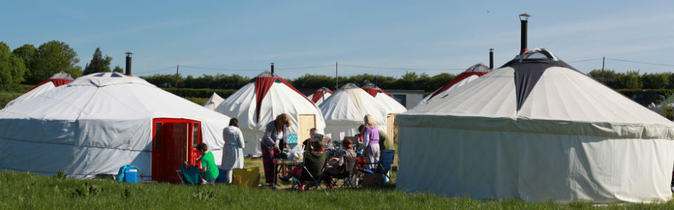 Luxury furnished yurt hire | Festival and event boutique