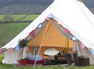 Are you planning a festival themed wedding and need extra accommodation? Fredu0027s yurts also offer a great honeymoon yurt package & UK Bell tent hire and rental | Luxury glamping event and festival ...